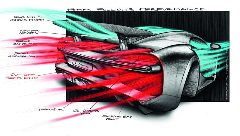 Foto Tecnicas Bugatti Chiron Cupe 2016