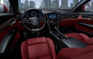 Foto Interiores (1) Cadillac Ats Sedan 2012