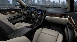 Foto Interiores Cadillac Ats Sedan 2012