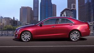 Foto Perfil Cadillac Ats Sedan 2012