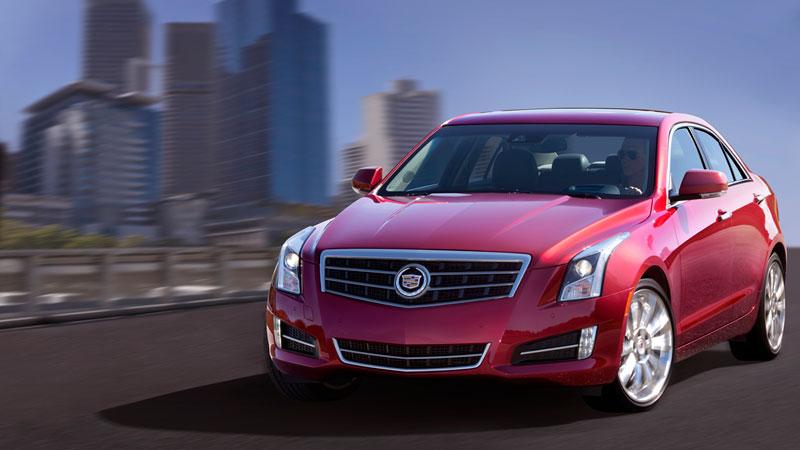 Foto Exteriores Cadillac Ats Sedan 2012