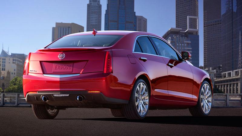 Foto Trasera Cadillac Ats Sedan 2012