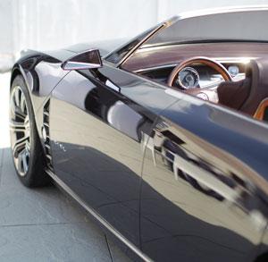 Foto Detalles Cadillac Ciel Concept 2012