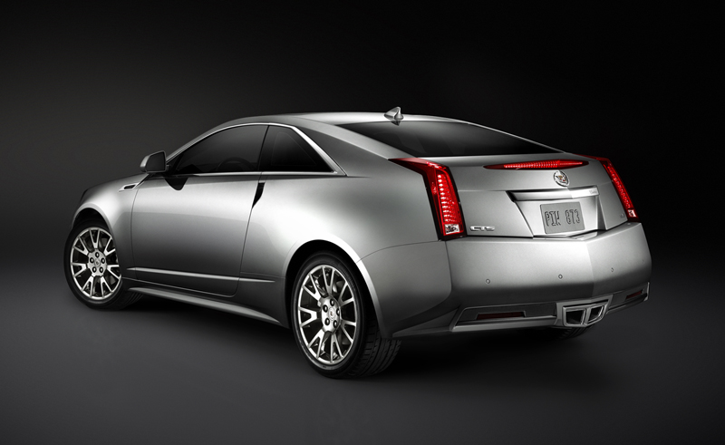 Foto Lateral Cadillac Cts Cupe 2010
