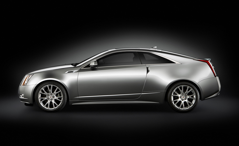 Foto Perfil Cadillac Cts Cupe 2010