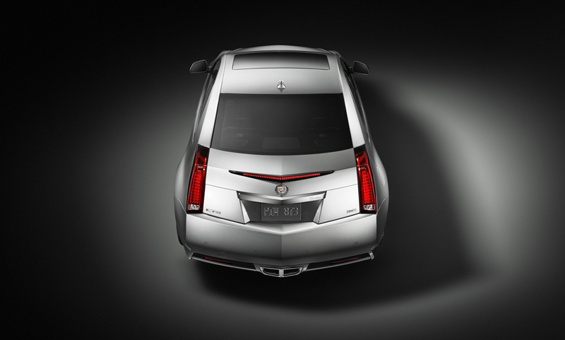 Foto Trasero Cadillac Cts Cupe 2010