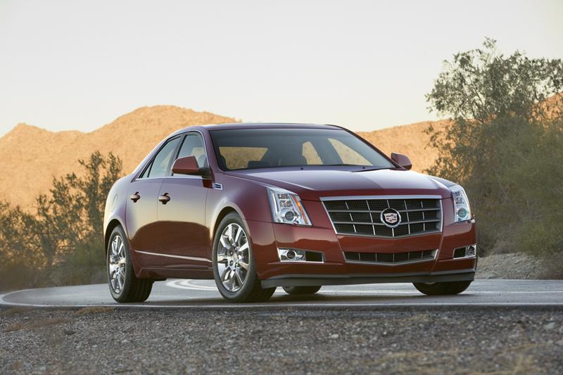 Foto Delantero Cadillac Cts Sedan 2010