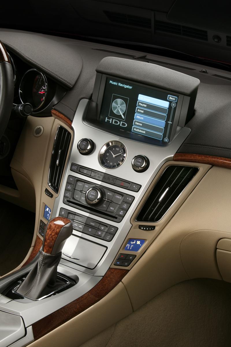 Foto Interiores Cadillac Cts Sedan 2010