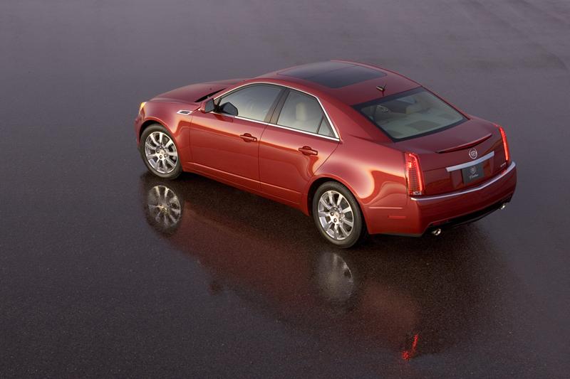 Foto Trasero Cadillac Cts Sedan 2010