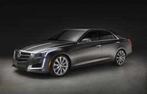 Foto Perfil Cadillac Cts Sedan 2013