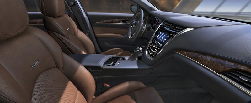 Foto Interiores Cadillac Cts Sedan 2013