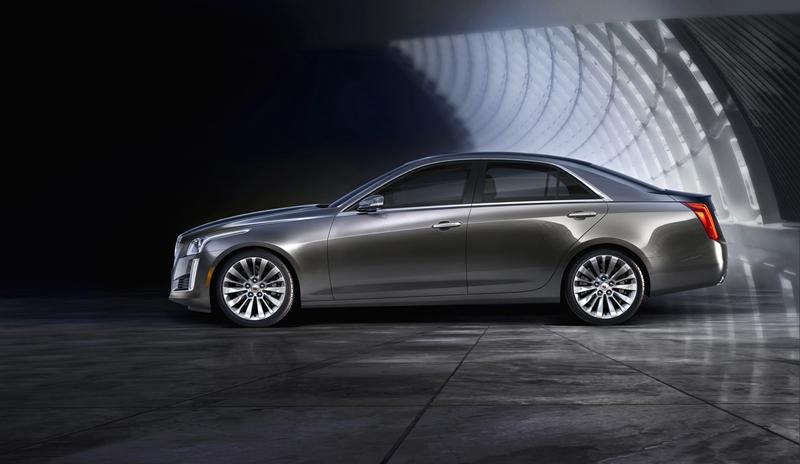 Foto Lateral Cadillac Cts Sedan 2013