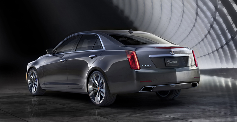 Foto Trasera Cadillac Cts Sedan 2013