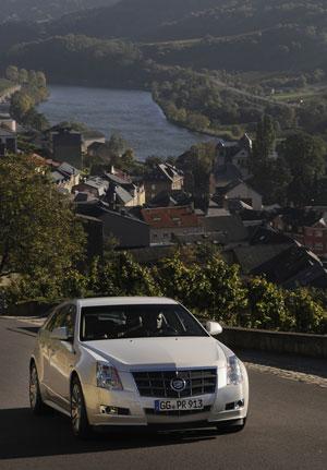 Foto Exteriores (1) Cadillac Cts-sport Familiar 2012