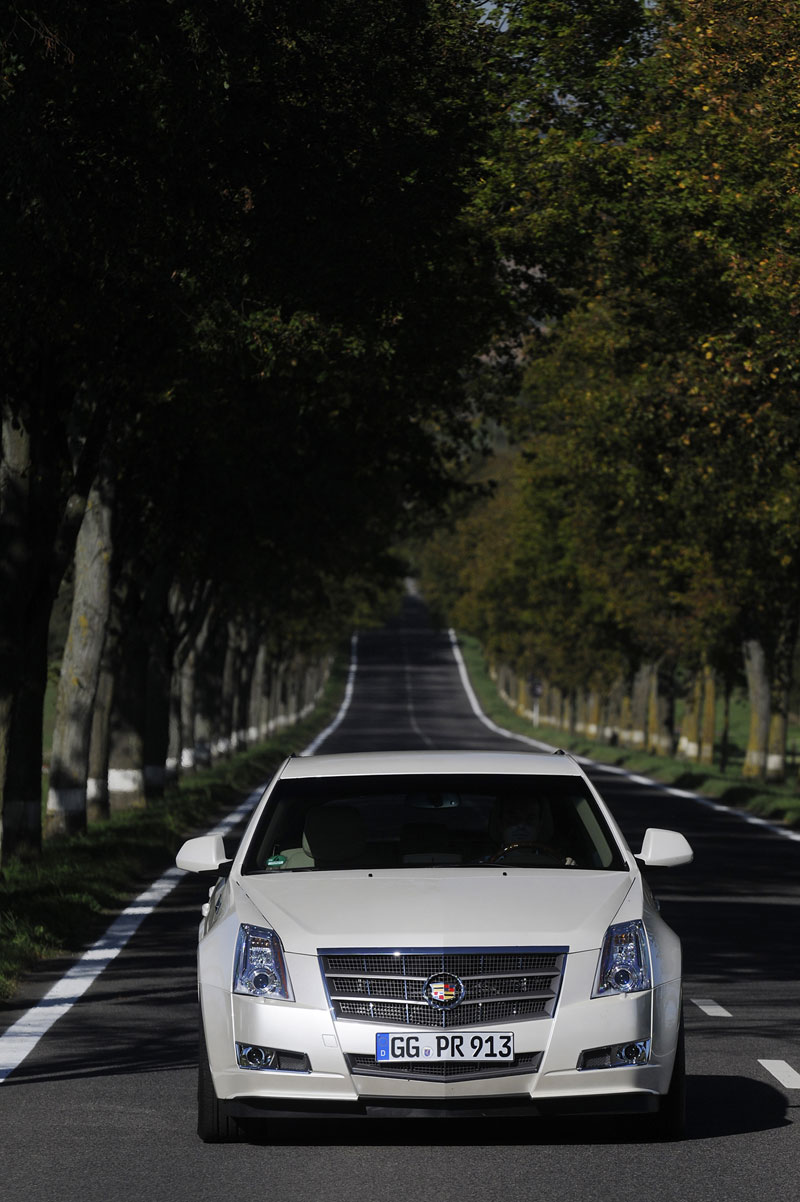 Foto Exteriores Cadillac Cts Sport Familiar 2012