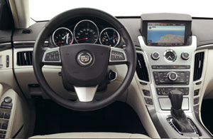 Foto Interiores Cadillac Cts-sport Sedan 2012
