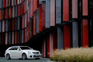Foto Exteriores (3) Cadillac Cts-v Familiar 2012