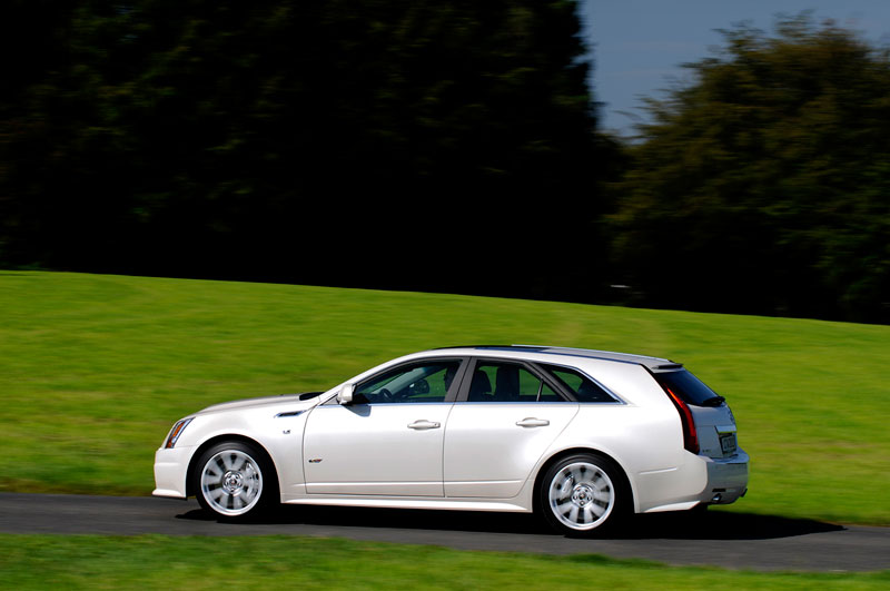 Foto Exteriores (10) Cadillac Cts-v Familiar 2012
