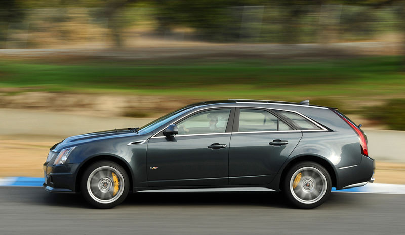 Foto Exteriores Cadillac Cts V Familiar 2012