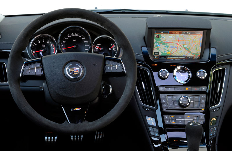 Foto Interiores Cadillac Cts V Familiar 2012