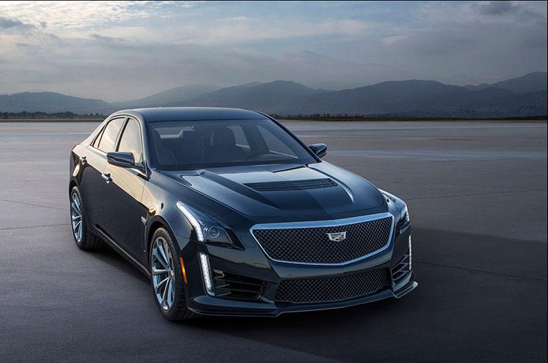 Foto Exteriores (10) Cadillac Cts-v Sedan 2015