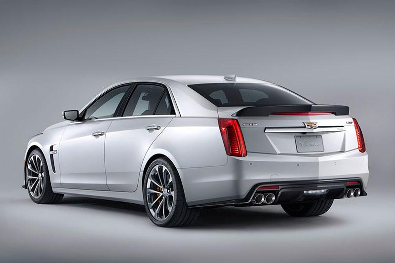 Foto Trasera Cadillac Cts V Sedan 2015