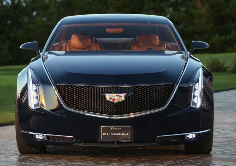 Foto Delantera Cadillac Elmiraj Concept Cupe 2013