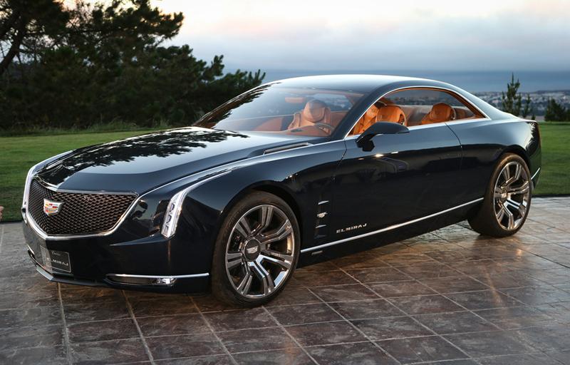Foto Exteriores Cadillac Elmiraj Concept Cupe 2013