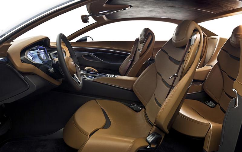 Foto Interiores Cadillac Elmiraj Concept Cupe 2013