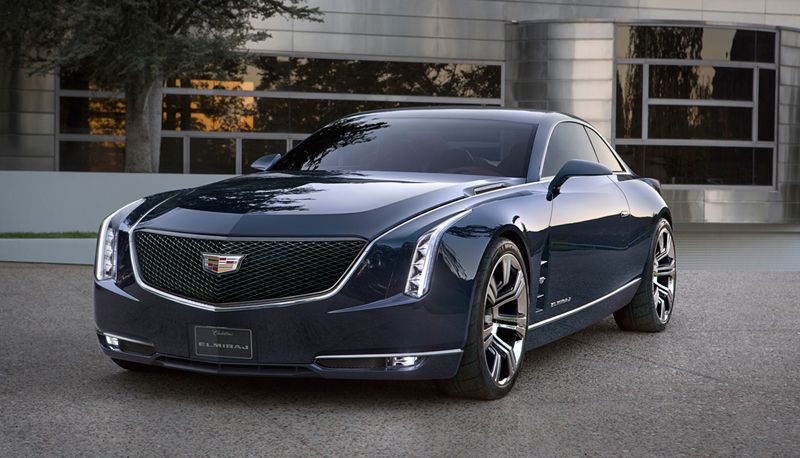 Foto Perfil Cadillac Elmiraj Concept Cupe 2013
