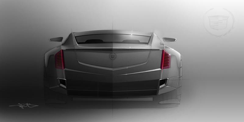 Foto Tecnicas Cadillac Elmiraj Concept Cupe 2013