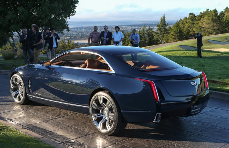 Foto Trasera Cadillac Elmiraj Concept Cupe 2013