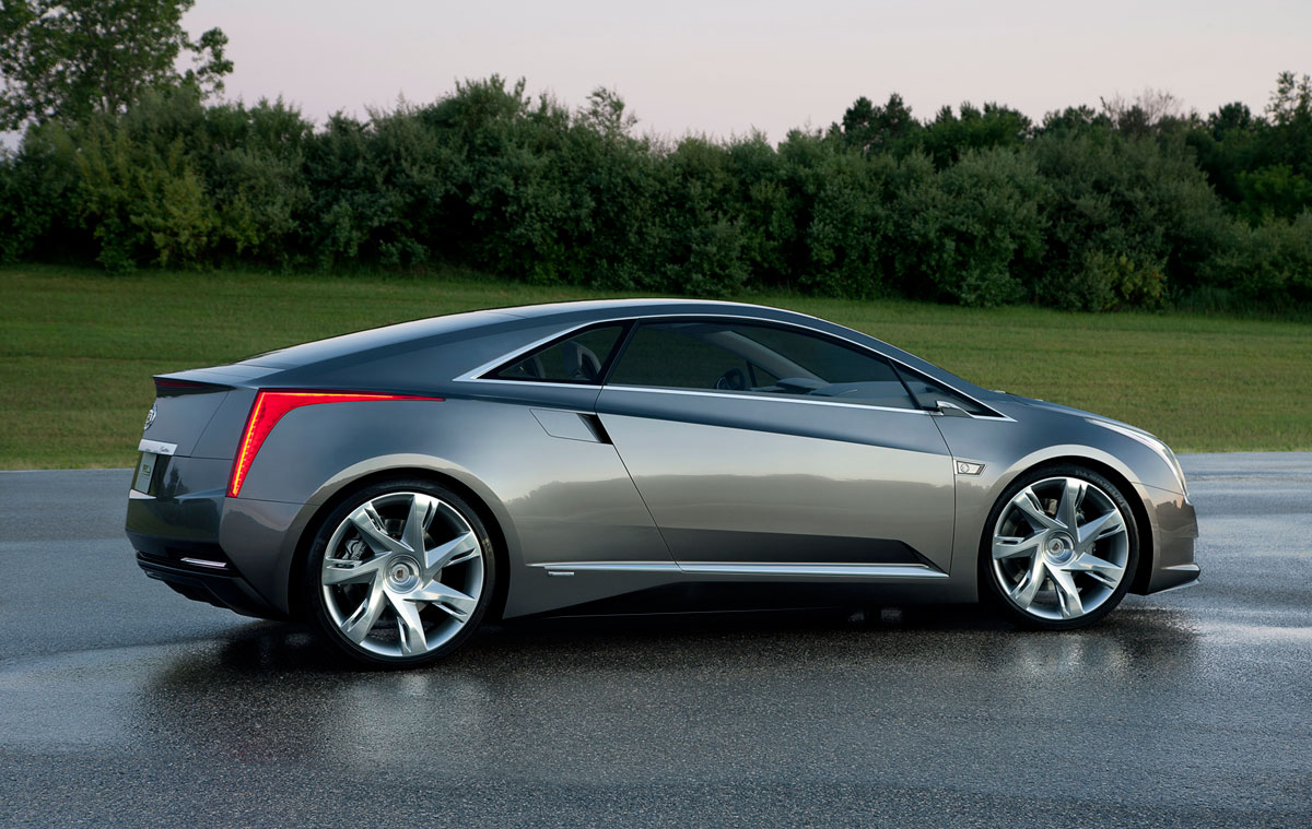 Fondo Pantalla Cadillac Elr Concept 2012 Perfil