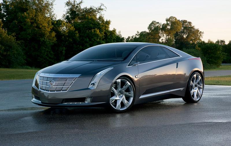 Foto Delantera Cadillac Elr Concept 2012