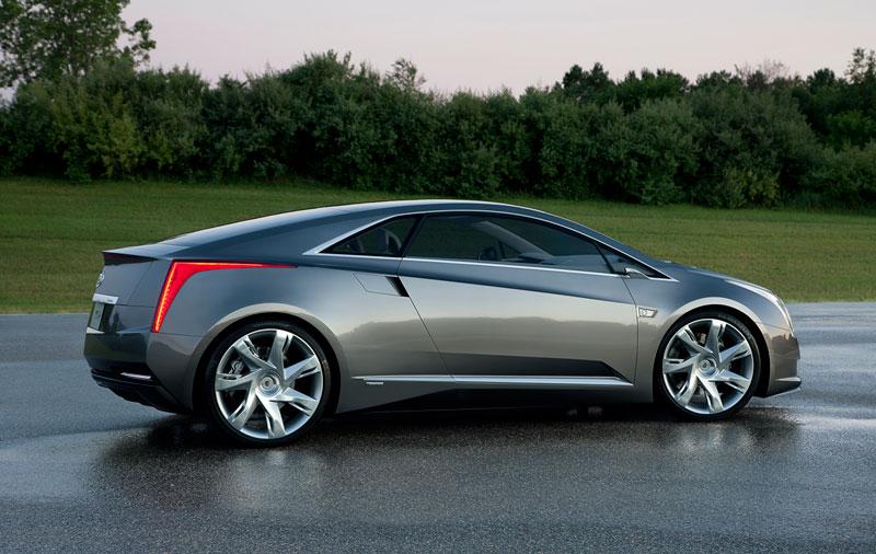 Foto Perfil Cadillac Elr Concept 2012