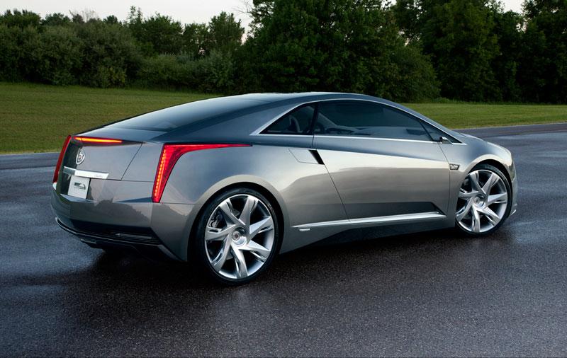 Foto Trasera Cadillac Elr Concept 2012