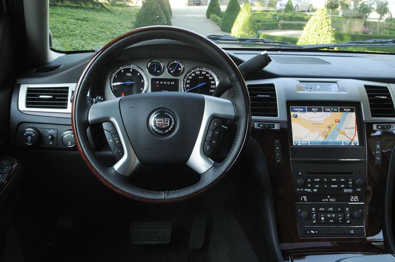 Foto Interiores Cadillac Escalade Suv Todocamino 2012