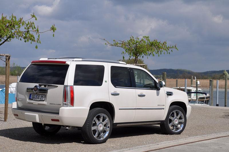 Foto Trasera Cadillac Escalade Suv Todocamino 2012