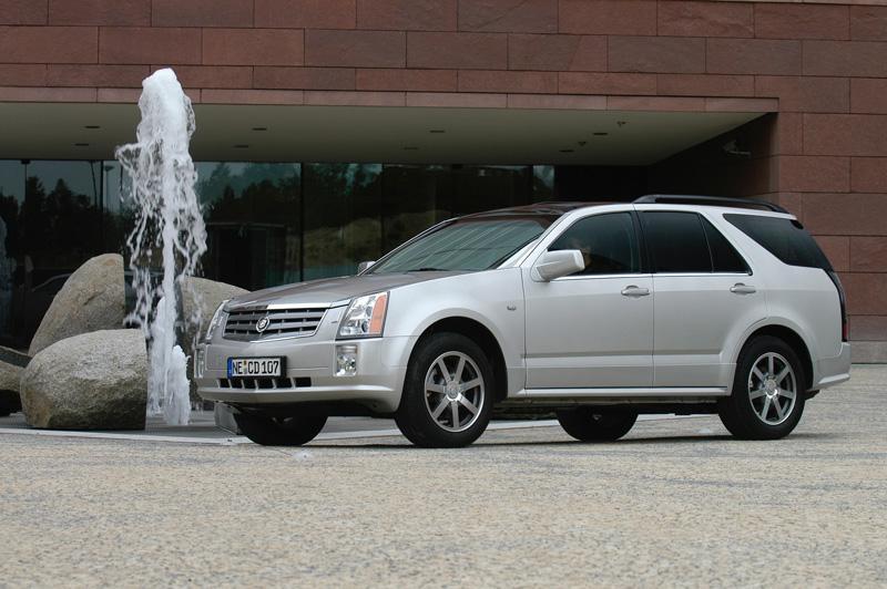 Foto Lateral Cadillac Srx Suv Todocamino 2008