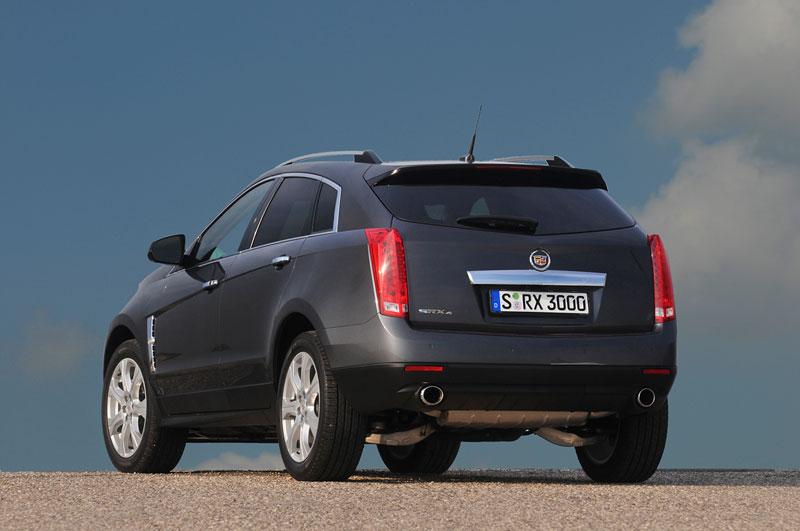 Foto Trasera Cadillac Srx Suv Todocamino 2012