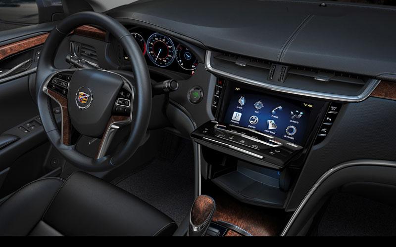 Foto Interiores Cadillac Xts Sedan 2012
