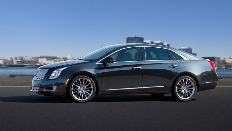 Foto Perfil Cadillac Xts Sedan 2012