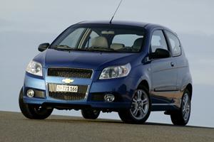 Foto Delantero Chevrolet Aveo Dos Volumenes 2008