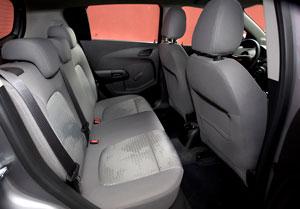 Chevrolet Aveo, análisis plazas posteriores