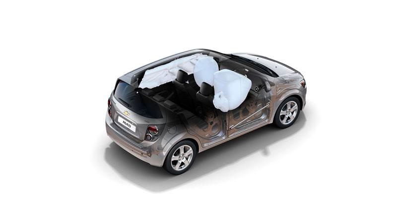 Foto Tecnicas Chevrolet Aveo Dos Volumenes 2011