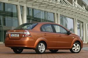 Foto Trasero Chevrolet Aveo Sedan 2008
