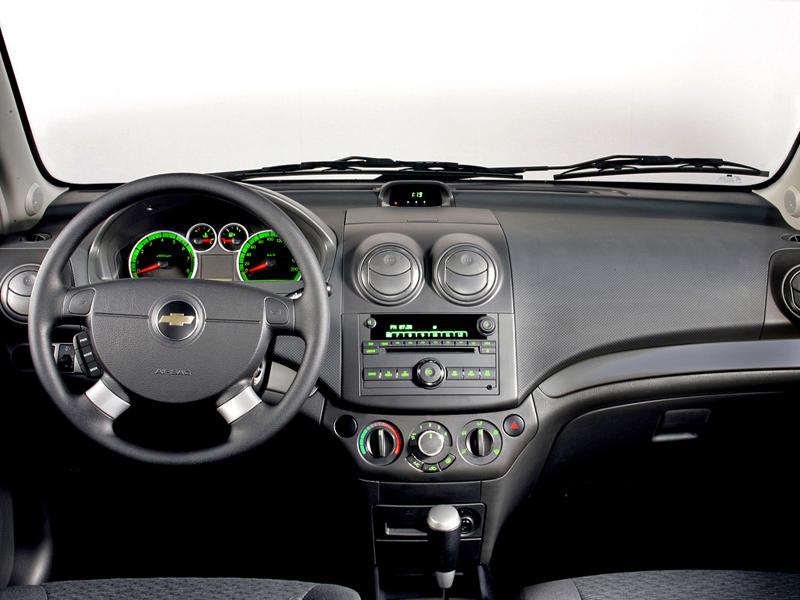 Foto Salpicadero Chevrolet Aveo Sedan 2008