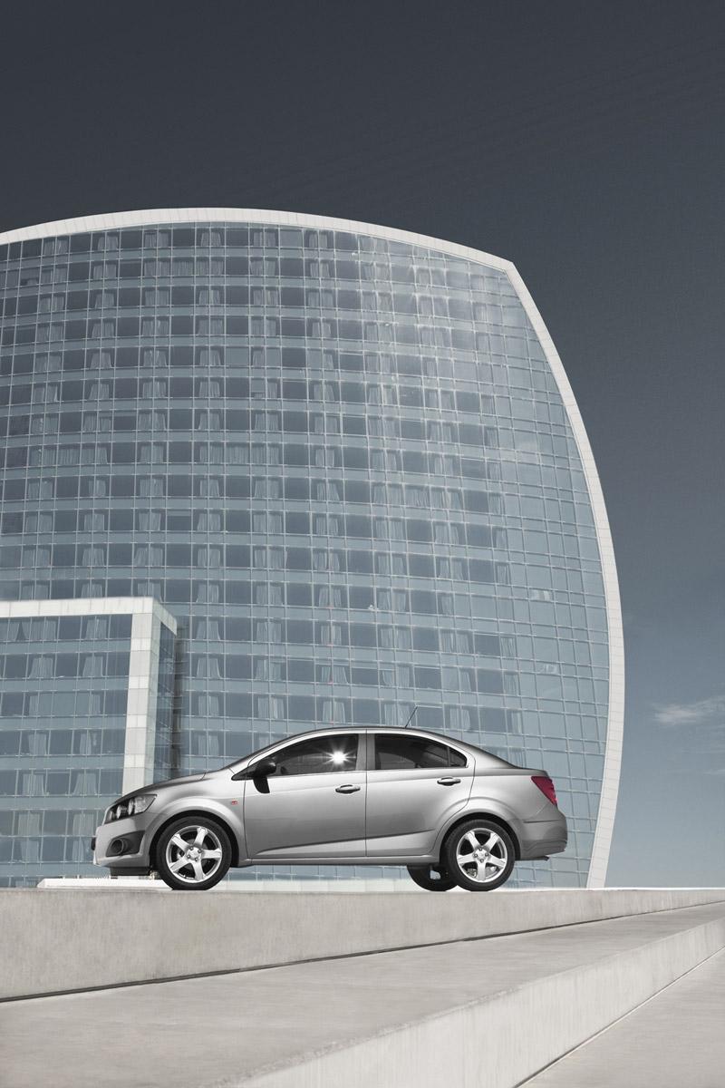 Foto Exteriores Chevrolet Aveo Sedan 2011