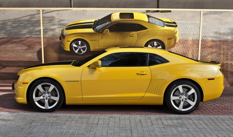 Foto Perfil Chevrolet Camaro Cupe 2011