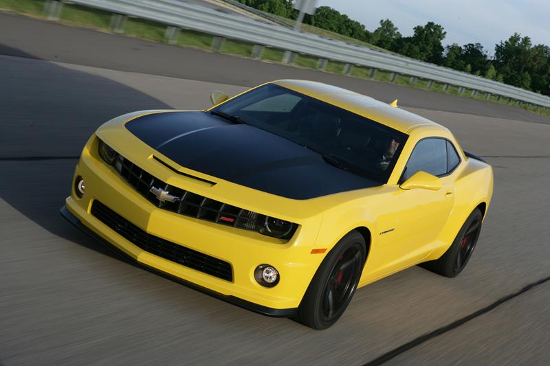 Foto Perfil Chevrolet Camaro Cupe 2012